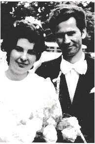 Yelizaveta Nezdropa and Jurij Mochernyuk