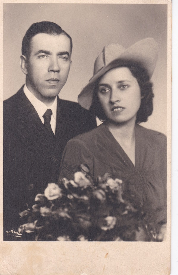 Stepan Mirovich with his wife
