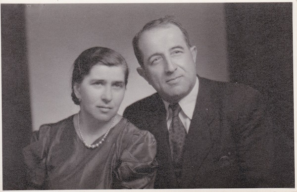 Nicolay Hrabets and Lydia Mirovich